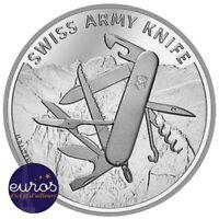 SUISSE 2018 - 20 Francs CHF - Couteau Suisse - argent 835‰ - UNC