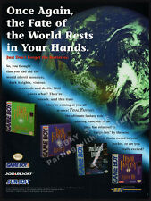 FINAL FANTASY Game Boy__Original 1998 print AD / game promo__Nintendo_Squaresoft