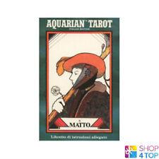 ITALIAN AQUARIAN TAROT DECK CARDS DAVID PALLADINI ESOTERIC TELLING NEW