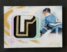 2010-11 UD ULTIMATE DEBUT THREADS PATCH NICK JOHNSON ROOKIE #ED 14/35