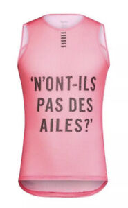 Rapha PRO TEAM Sleeveless Base Layer High-Viz Pink BNWT Size M or L