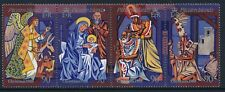 1988 PITCAIRN ISLAND CHRISTMAS STRIP OF 4 FINE MINT MNH