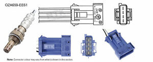 NGK NTK Oxygen Lambda Sensor OZA659-EE61 fits Citroen C5 2.0 16V (DC), 2.0 16...