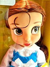 "Disney Animators Collection Beauty Beast Blue Peasant Belle 16"" Doll Sealed MIB"