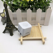 Energy Saving Metal USB MP3 Player Rechargeable TF Card Speaker Loudspeaker Box
