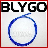 Clear BLUE 1M 1 Meter 5mm ID Fuel Petrol Line Hose PIT Quad Dirt Bike ATV Buggy