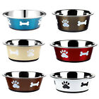 Dog+Cat+Rabbit+Pet+Animal+Bowls+Small+Large+Metal+Stainless+Steel+Dish+Classic