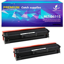 2PK Toner Cartridge For MLT-D111S Samsung Xpress SL-M2020W SL-M2070FW SL-M2070W