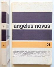 Trimestrale di estetica e critica Angelus Novus n. 21-1971 Massimo Cacciari