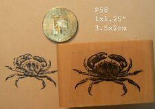 P58 crab rubber stamp
