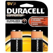 Duracell Coppertop Battery 9 Volt 2 Pack