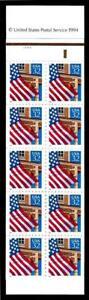 1¢ WONDER'S ~ FOLDED MINT STAMP BOOKLET W/ 32¢ FLAG OVER PORCH (FV=$6.40) ~ T409