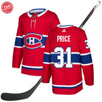 Montreal Canadiens Carey Price 31 Red Men Ice Hockey Jersey