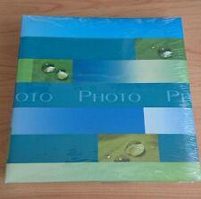 Einsteck-Fotoalbum für 200 Bilder in max. 10x15 cm, neu ovp, Farbe blau-grün