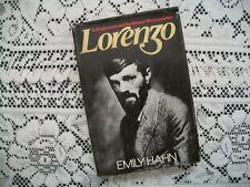Lorenzo (Emily Hahn, 1975 1st Edition HC/DJ)