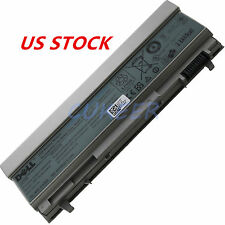 Genuine E6400 Battery For Dell Latitude E6410 E6500 E6510 KY265 4M5299 9CELL New