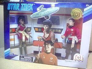 "Mego Star Trek Exclusive Sulu & Uhura ""Mirror, Mirror"" limited edition figures"
