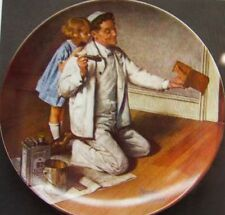 "Knowles-""The Painter""-Norman Rockwell Heritage Coll.-Nle-1983 plate-Usa-New!"