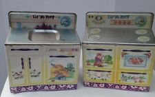 Vtg Metal Play Kitchen Stove Sink Lil Bo Peep by Wolverine Collectable