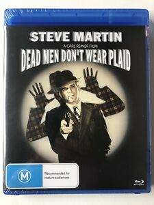 Dead Men Don't Wear Plaid - Steve Martin (Blu-ray) Region B - NEW SEALED RARE
