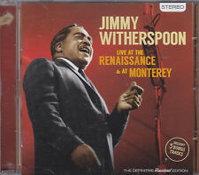 JIMMY WITHERSPOON - live at the renaissance / at monterey CD