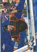 J.T. REALMUTO 2017 TOPPS CHROME SAPPHIRE EDITION #396 ONLY 250 MADE