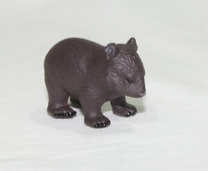 Wombat Replica Animals of Australia Australian Marsupial Animal Model Small Toy