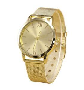 Modische Armbanduhr in Gold