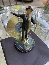 franklin Mint Frank Sinatra I've Got The World On A String musical sculpture