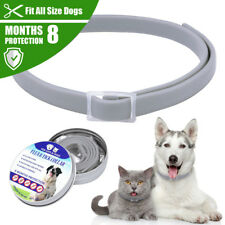 Flea and Tick Collar 8 Month Protection Adjustable for Small Medium Large Dogs