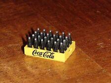 MINIATURE CRATE OF COCA COLA (BLACK WRITING ON COKE CRATE) DIORAMA SCALE 1/24