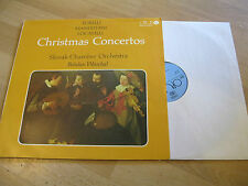 LP Christmas Concertos Torelli Manfredini Locatelli Slovak  OPUS CSSR 91110431