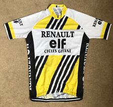 Classic Vintage Mens Team Renault Elf Cycling Jersey, LeMond Tour De France