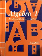 Saxon - Algebra 1 Second Edition Hardback Second Edition