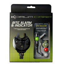 Korum NEW Bite Alarm and Indicator Set Carp Fishing Accessory