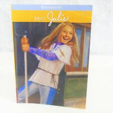 NEW American Girl Of The Year Doll MEET JULIE ALBRIGHT BOOK Paperback 1974 Story