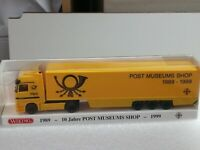 Wiking Post (20)  PMS 81-04 , MB Actros 1843 Sattelzug ( 10 Jahre PMS ) in OVP