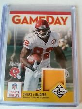 DWAYNE BOWE 2012 LIMITED SP #46/49 GAME DAY JERSEY CARD #23 KANSAS CITY CHIEFS