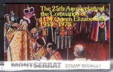 MONTSERRAT SGSB3 1978 CORONATION BOOKLET MNH