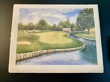 1991 PGA Championship Crooked Stick #6 Limited Edition Golf Print Betty Boyle
