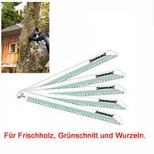 Sägeblätter für Säbelsäge DEWALT DW310 DW311 DCS320N 5 St. Frischholz Grünschn.