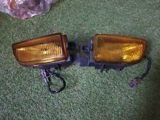 Rare JDM Yellow Fog Lights PAIR fits TOYOTA CARINA E / CALDINA  1992 - 1996