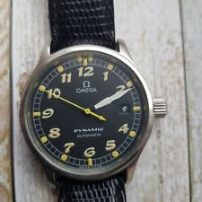 Men's Stainless Steel Omega Dynamic Automatic Wrist Watch