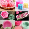 DIY 3D Bee Honeycomb Merry Christmas Gift Silicone Cake Mold Candle Soap Mould