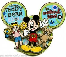 WDW Teddy Bear & Doll Weekend 2007: Mickey LE 1000 Pin