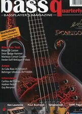 Bass Quaterly # 2008 5 -POSEIDON- Börjes JB Custom, Dean Sledge Hammer, Marleaux