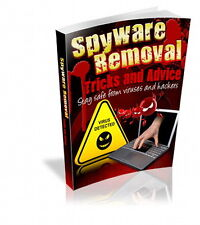 SPYWARE, VIRUS REMOVAL, Tricks & Advise, Stay Safe From Viruses & Hackers  (CD)