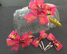 Emma Wiggle Girls Ribbon Bow Hair Accessories Headband, Clips Set. Birthday Gift