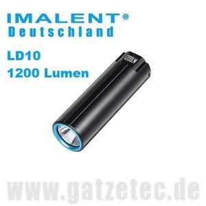 Imalent LD10 Mini LED Taschenlampe 1200 Lumen EDC inkl. Akku und USB Ladekabel