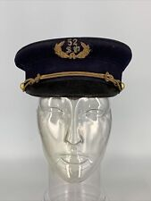 Vintage 52 Sd Sailor Hat Fraternal Knights of Pythias? Estate Find